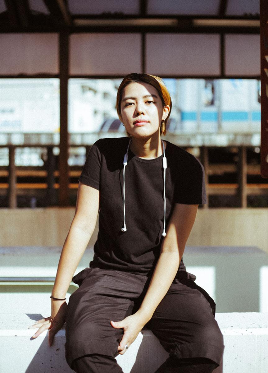 「LOUD AIR」のデザイナー 岡村成美さん